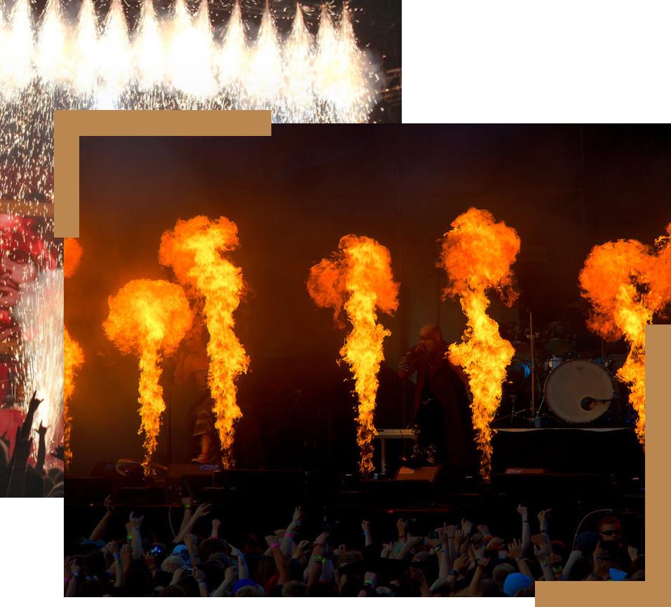 Fajerwerki, konfetti, serpentyny, świece dymne, petardy, rakiety, wyrzutnie